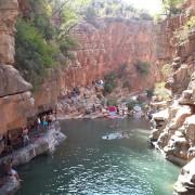 Paradise Valley Waterfalls near Taghazout (Phot Credit:Oussama Lahbari)