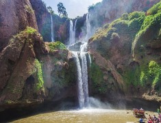 Ouzoud WaterFalls, in the province of Azilal ( Photo Credit:Kasmii)