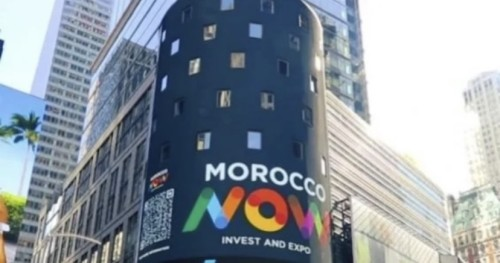 Morocco Now in Time Square New York USA