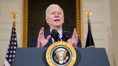 Biden puts US in standoff with Iran, says sanctions won't be lifted until country stops enriching uranium